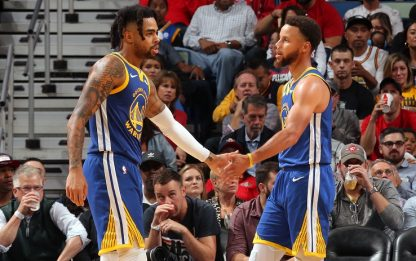 Curry&Russell: l'attacco è da mal di testa. VIDEO