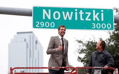 Dallas dedica una strada a Nowitzki
