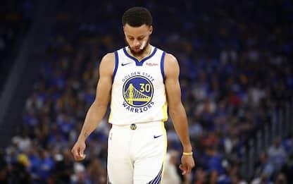 Le reazioni NBA all'infortunio di Steph Curry
