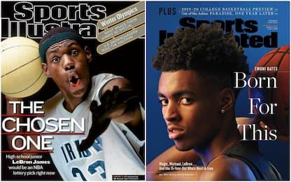 Bates in cover su Sports Illustrated prima di LBJ