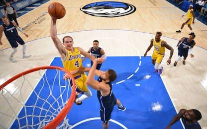 Le schiacciate di Alex Caruso terrorizzano la NBA
