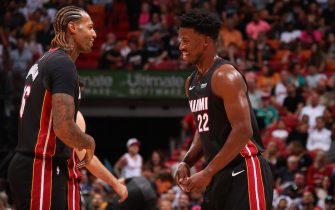 James Johnson e Jimmy Butler
