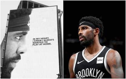 Irving sfida New York con un billboard al Garden