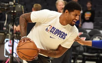 Clippers, Paul George in campo entro 1 settimana?