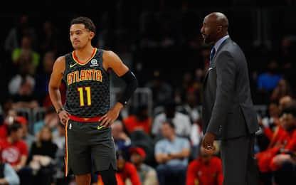 Young-Pierce non vanno d'accordo: addio in vista?