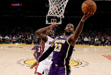 LeBron James mille volte a quota 20 punti