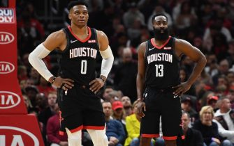 Russell Westbrook e James Harden
