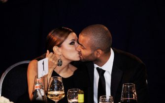 Eva Longoria and Tony Parker kiss each other at the Congressional Hispanic Caucus Institute's 33rd Annual Awards Gala at the Washington Convention Center in Washington D.C  September 15 2010. (Pictured: Eva Longoria, Tony Parker) Photo by Olivier Douliery /ABACAUSA.COM