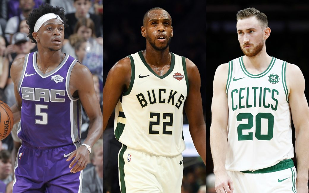 Image result for fox, hayward and khris middleton