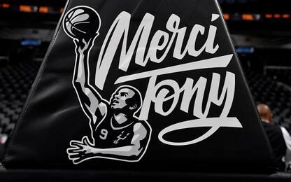 Gli Spurs ritirano la n°9 di Tony Parker. VIDEO