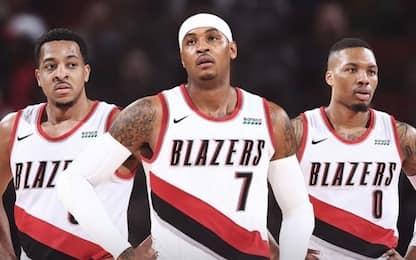 Carmelo Anthony torna in NBA: giocherà a Portland