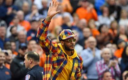 La NBA gioisce per Melo: le reazioni social. FOTO