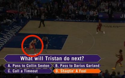 La follia di Thompson domina Shaqtin a Fool. VIDEO