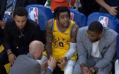 Warriors senza pace: infortunio per Russell