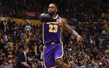 Lakers e Celtics non si fermano, Gallo show all'OT