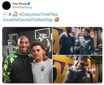 Trae Young e Kobe Bryant