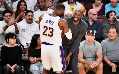 LeBron va a caccia di Kobe stanotte su Sky Sport