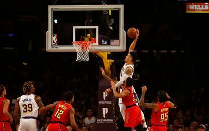 Green vola a schiacciare, Lakers increduli. VIDEO