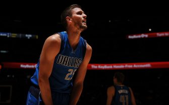 DENVER, CO - MARCH 6: Chandler Parsons #25 of the Dallas Mavericks is seen during the game against the Denver Nuggets on March 6, 2016 at the Pepsi Center in Denver, Colorado. NOTE TO USER: User expressly acknowledges and agrees that, by downloading and/or using this Photograph, user is consenting to the terms and conditions of the Getty Images License Agreement. Mandatory Copyright Notice: Copyright 2016 NBAE (Photo by Bart Young/NBAE via Getty Images)