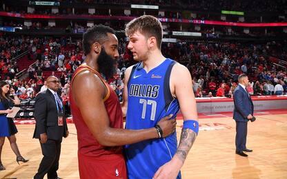 NBA Sundays: Harden vs Doncic in diretta su Sky