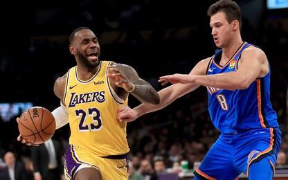 Il racconto della notte NBA di Bonfardeci. VIDEO