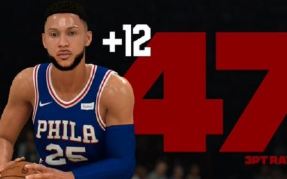 Simmons, basta una tripla: rating su a NBA 2k20
