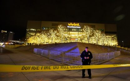 Allarme bomba a Salt Lake City dopo Jazz-Warriors