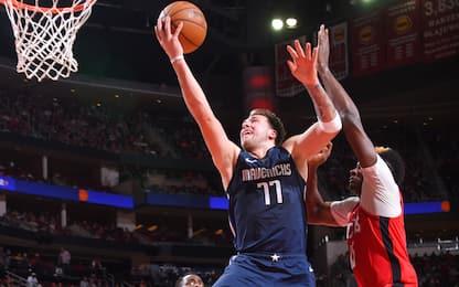 NBA Sundays, Doncic domina: 41 e vittoria Dallas