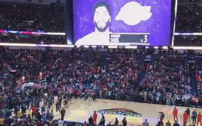 Anthony Davis, fischi per lui a New Orleans. VIDEO