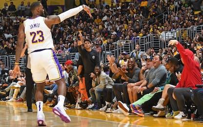 LeBron a quota 33k punti, Kobe sempre più vicino