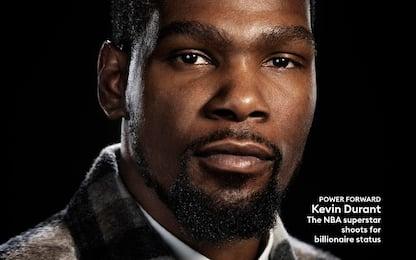 Kevin Durant da fuoriquota sulla cover di Forbes