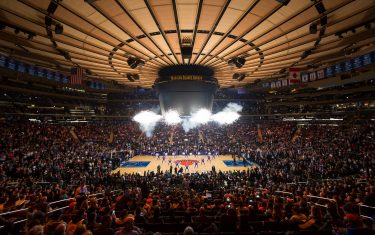 NEW YORK, NY - OCTOBER 29:  A general view of Madison Square Garden before the Memphis Grizzlies game against the New York Knicks on October 29, 2016 in New York City, New York.  NOTE TO USER: User expressly acknowledges and agrees that, by downloading and or using this photograph, User is consenting to the terms and conditions of the Getty Images License Agreement. Mandatory Copyright Notice: Copyright 2016 NBAE  (Photo by Reid Kelley/NBAE via Getty Images)