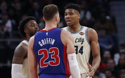 Giannis, storie tese con Blake Griffin. VIDEO