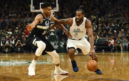 """Durant: """"Clippers campioni, in finale con i Bucks"""""""