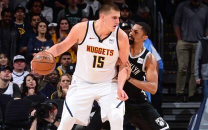NBA Sundays: Brooklyn-Denver LIVE dalle 21 su Sky