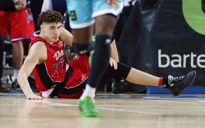 Le squadre per LaMelo? L'idea di LaVar. VIDEO