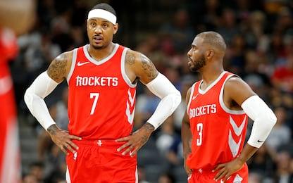 """Melo: """"Avvertì CP3 di stare attento ai Rockets"""""""