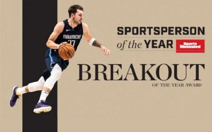 "Doncic nominato ""Breakout of the Year"" da SI"