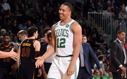 Grant Williams segna la prima tripla in NBA. VIDEO