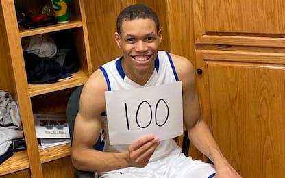 100 punti in una partita: JJ Culver è già una star