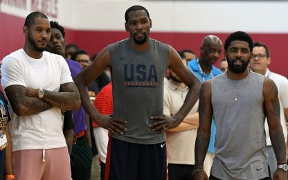KD-Kyrie-Anthony ai Knicks, il sogno di Carmelo