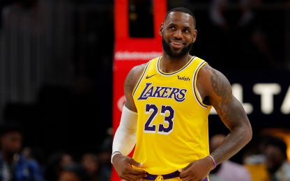 Lakers show anche ad Atlanta, Brooklyn batte Phila