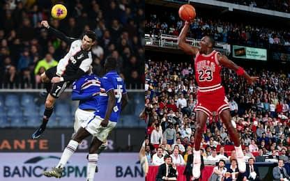 Il salto di CR7 a confronto con quelli della NBA