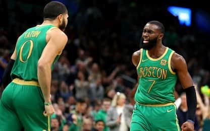 Boston: da Tatum a Brown l'amore per il Natale NBA