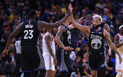 NBA Christmas Day, Golden State sorprende Houston