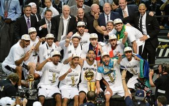 I San Antonio Spurs campioni NBA 2014