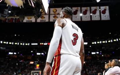 Miami, ritiro della maglia di Wade il 22 febbraio
