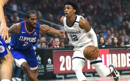 Memphis, che vittoria a L.A.: Clippers distrutti