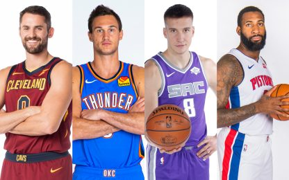 I 75 nomi che possono accendere il mercato NBA