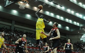 xxx during the FIBA World Cup Asian Qualifier Group B match between Japan and Australia at Chiba Port Arena on June 29, 2018 in Chiba, Japan.